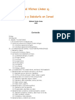 Vilchez Lindez Jose - Sabiduria Y Sabios en Israel