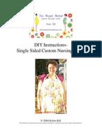 Nursing Cover Tutorial