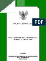 RKPD Kota Yogyakarta 2009