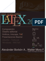 LaTeX Febrero 2012 Composicion DisenoEditorial Graficos Inkscape TikZ Beamer