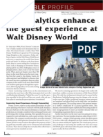 How Analytics Enhace the Guest Experience at Walt Disney World