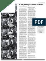 No Chile, admiração e sombras da ditadura