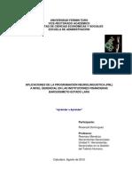 PNL Instituciones Financieras