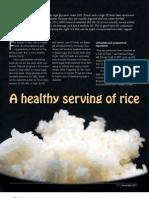 IRRI AR 2011 - A Healthy Serving of Rice