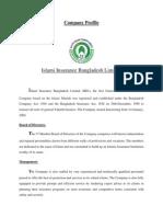 Islami Insurance Bangladesh Limited Company Profile