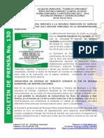 Boletin de Prensa 130