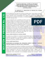 Boletin de Prensa 131