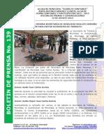Boletin de Prensa 139