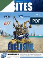 Qatar Construction Sites magazine  August 2012