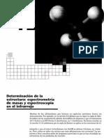 3cap 12 Determinacion de La Estructura, Espectrometria de Masas y Espectroscopia en El Infrarrojo