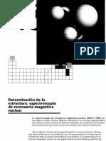 3cap 13 Determinacion de La Estructura, Espectroscopia de Resonancia Magnetica Nuclear