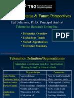 TRG ITSWG Telematics