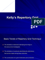 Kelly's Repertory Grid