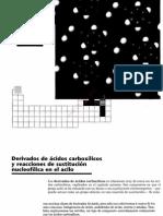 3cap 21 Derivados de Acidos Carboxilicos y Reacciones de Sustitucion Nucleofilica en El Acilo