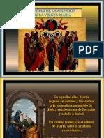 La Asunción de la Virgen María. Flecha