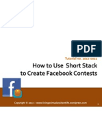How to Use ShortStack to Create Facebook Contests