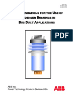 Seal of Bushing