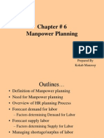 Chapter No 6 Man Power Planning in Labour economics