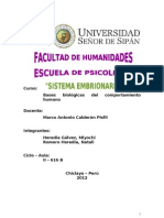 Monografia Sistema Embrionario