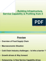 RK Foodland - PPT for Cold Chain