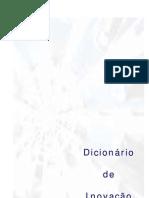 DICIONÁRIO DE INOVAÇÃO