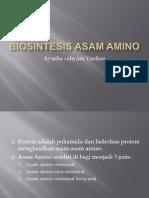 Biosintesis Asam Amino
