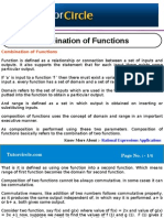 Combination of Functions