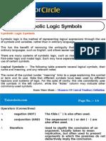 Symbolic Logic Symbols