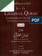 www.kitabosunnat.com Key of Lisaan Ul Quran Vol.2