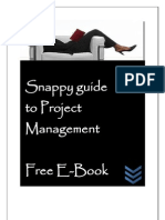 Snappy Guide to Project Management