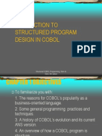 Introduction Cobol