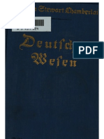Chamberlain, Houston - Deutsches Wesen - Ausgewaehlte Aufsaetze (1916, 198 S., Scan, Fraktur)
