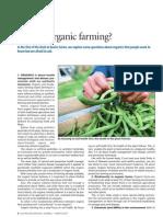 What Organic Farming