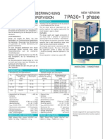 Rele Siemens 7PA30 Supervisión bobina de disparo Monofásico broshure (2)