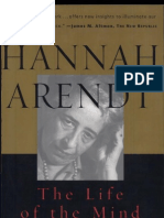 32007999 Arendt the Life of the Mind