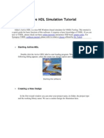 Active HDL Simulation Tutorial