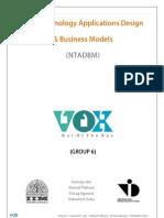 NTADBM 2012 - Group 6 - VOX