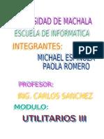 Informe de Proyecto de Autocad