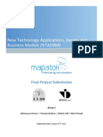 Mapatok - Group 2 - NTADBM 2012 Project Report