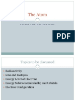 The Atom (Radiation, Energy and Configuration)