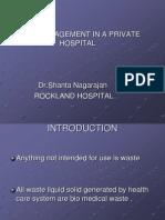 Dr Shantha Nagarajan