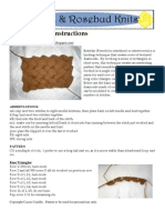 Basic Entrelac Instructions REV