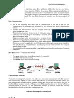 Data Communication Unit1 as Per Pune University