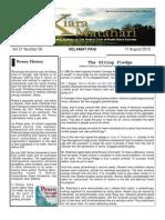 RCBKS Bulletin Vol 21 No 6