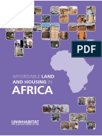 Affordable Land and Housing in Africa
