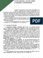 6cap 4 Concepto de Funcion. Valor Limite de La Funcion. Continuidad