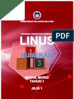 Modul Murid Jilid 1 Linus Numerasi Tahun 1 (BM)