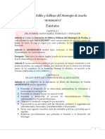 Estatutos de la Asociación de Ediles y Edilesas del Municipio de Soacha - Versión Final