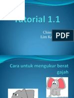 Tutorial 1 (Waj 3105)