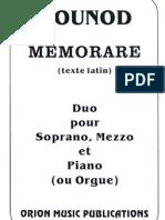 GOUNOD - Memorare.pdf